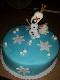 Olaf Cake ... Motivtorte Olaf