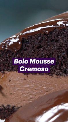 Cheesy Recipes, Mexican Food Recipes, Sweet Recipes, Fun Baking Recipes, Dessert Recipes, Cooking Recipes, Bolo Chocolate, Chocolate Desserts, Just Desserts