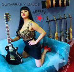 @sovietcustom #MelinaCardenes #SovietCustomShop #GuitarrasSoviet #SovietGuitar #PinUpArgentina