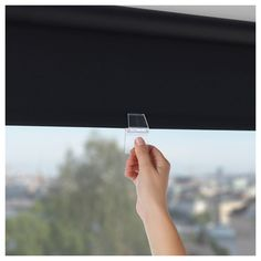 IKEA - TUPPLUR Blackout roller blind black
