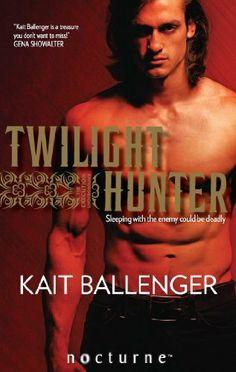 Twilight Hunter (Mills & Boon Nocturne) (The Execution Underground - Book 2) by Kait Ballenger, http://www.amazon.co.uk/dp/B00F46246S/ref=cm_sw_r_pi_dp_S7lGtb14VHJGV