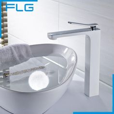 Bathroom Faucet Grilled white paint Chrome Finish Brass Basin Sink Faucet Mixer Tap Single Handle - ICON2 Luxury Designer Fixures   #Bathroom #Faucet #Grilled #white #paint #Chrome #Finish #Brass #Basin #Sink #Faucet #Mixer #Tap #Single #Handle
