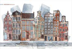 Architectural Illustration by Palina Klimava