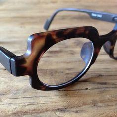 Designer eyewear, Reading glasses or optical eyeglasses, Matte tortoise eyeglasses, Unisex eyewear