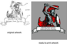 artwork magic, from hand drawn to printable art