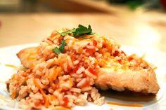 Lazy Gluten Free: Simple Salsa Rice Chicken