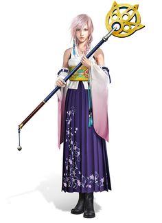 Lightning, Spira's Summoner Outfit