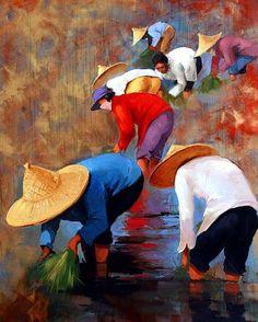 Pintura de George Corominas | Pintor Francês