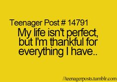 Thankful for everything :)