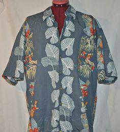 Kahala Hawaiian Islands Shirt Extra Large Mens Ukelele Hula Girl Hibiscus  #Kahala #hawaiianshirt