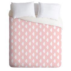 Allyson Johnson Dainty Blush Duvet Cover | DENY Designs Home Accessories