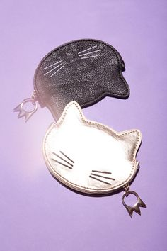 Cooperative Kitty Zip-Pouch - Urban Outfitters
