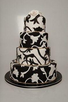 Mesas dulces en Blanco y Negro. Imagen: Pinterest