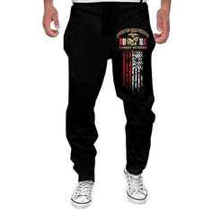Mens Slayer Show No Mercy Sweatpants Jogger Pant >>> You can get additional details at the image link. (This is an affiliate link) Mens Sweatpants, Fashion Sweatpants, Running Pants, Sport Pants, Sports Trousers, Running Style, Golf Pants, Mens Running, Vestidos