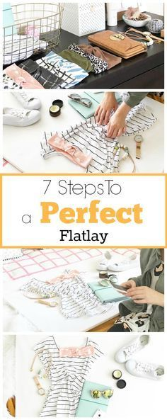 Do you want to know how to create a perfect flatlay pic? Follow the 7 steps in this guide.