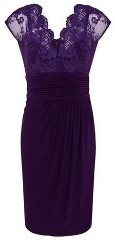 purple lace dress ♥✤