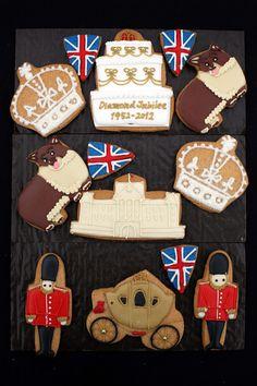 Diamond Jubilee cookie display