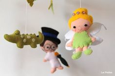 Baby Mobile Baby Crib Mobile  Peter Pan Captain by LesPetitesshop
