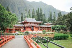 Byodo-In Temple | justine elizabeth: Oahu, Hawaii