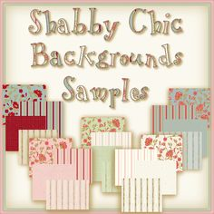 """one of my favorite things about """"shabby chic"""" is how you can 'mismatch' textiles but they all still look amazing together!"""