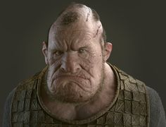 ogre by andrea de martis Fantasy Images, Fantasy Rpg, Medieval Fantasy, Comic Character, Character Concept, Character Design, Character Reference, Concept Art, The Hills Have Eyes