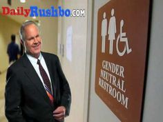 BINGO! Rush Limbaugh Finds A Simple Solution To Transgender Bathroom Issue