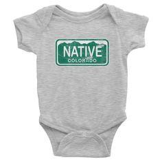 NATIVE COLORADO BABY ONESIE
