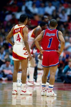 No matter what size you are, ALL things are possible.Spud Webb & Muggsy Bogues