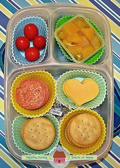 #homemade version of the lunchables