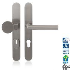 GPF9327 L veiligheidsgarnituur met kerntrekbeveiliging Bathroom Hooks, Door Handles, Home Decor, Door Knobs, Decoration Home, Room Decor, Home Interior Design, Home Decoration, Interior Design