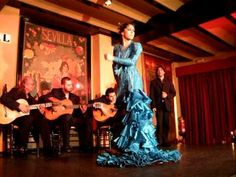 Flamenco (Tablao El Arenal, Seville, Spain, 2010) - YouTube. I saw a flamenco show at this exact same place back in 2002.