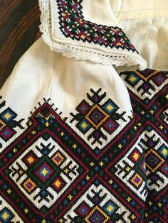 Folk Costume, Costumes, Palestinian Embroidery, Folk Embroidery, Costume Patterns, Motif Floral, Cross Stitch Designs, Sewing Hacks, Blackwork