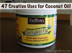 Coconut Oil Creative Uses