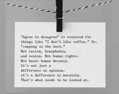 Agree To Disagree, Morals, Meaningful Quotes, Politics, Cards Against Humanity, Good Things, Rabbits, Poems, Sayings