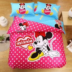 New Arrival 100% Cotton Comforters Pink Comforter Bed Sets For Girls Twin Full Queeen King