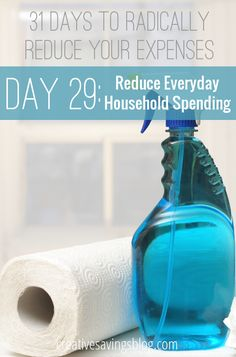 From cleaning supplies to paper products, here are 5 ways to save on everyday household items to keep your thrifty home running smoothly!