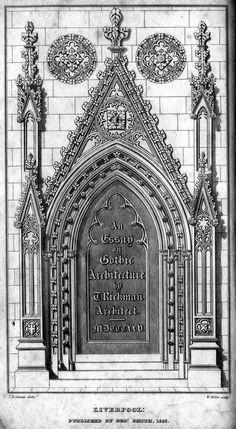 midevil architectural doorways | ... loud thoughts on gothic architecture and its link to scholasticism