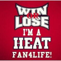 Heat fan for life #HeatNation #MiamiHeat