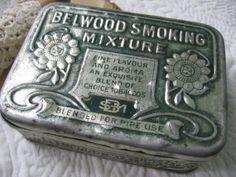 SOLD - Vintage Tobacco Tin