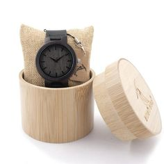 Waterproof BOBO BIRD Wood Watch for Men