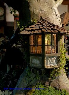 DIY fairy garden design and accessories - DIY Fairy Garden Design and Accessori. - DIY fairy garden design and accessories – DIY Fairy Garden Design and Accessories I am addicted - Fairy Tree Houses, Fairy Garden Houses, Gnome Garden, Fairy Gardening, Solar Fairy House, Fairies Garden, Garden Deco, Gardening Quotes, Diy Garden