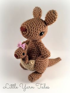 Ravelry: Kangaroo & Joey pattern by Elysia McWatters