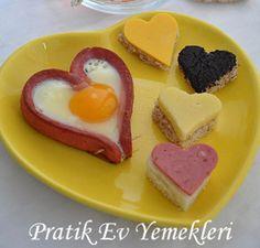 Sosisli Kalp   Sosisli Kalp tarifi   Sosisli Kalp yapılışı   Pratik Ev Yemekleri