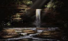 Hidden Falls by jjpeabody.deviantart.com on @deviantART