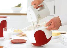Pojemnik do ciasta - MIX&BAKE 3L - od EMSA. Perfect for your kitchen. #designaward #forkitchen #dlakuchni #kitchenaccessories