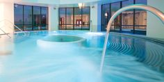 Unwind in the Thalassotherapy pool at Forest Mere