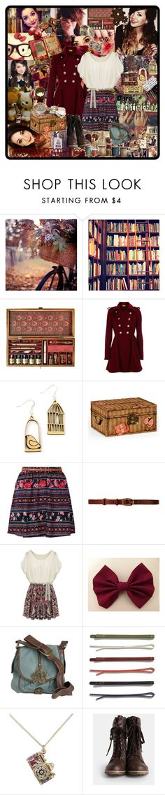"""Nutty Truffles"" by vintage-rage-7410 ❤ liked on Polyvore featuring Authentic Models, Oasis, MANOLO, Jonathan Charles Fine Furniture, CO-OP Barneys New York, Cutler and Gross, Valfré, Mantaray, Madewell and Accessorize"