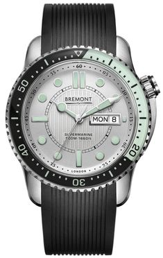 6b83c5e629a Bremont Watch Supermarine 500 Silver S500 SI Watch