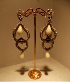 hand made earrings....