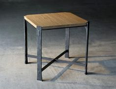 Woodland Square End Table by Charleston Forge. Hand forged and MADE IN USA. We are a 30 year old family owned maker of exquisite quality hand forged furniture.